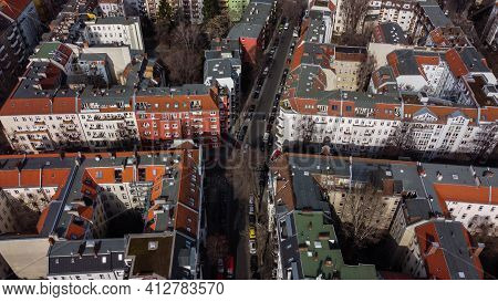 Above The Rooftops Of Berlin - Berlin, Germany - March 11, 2021