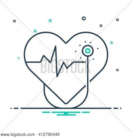 Mix Icon For Cardiology  Cardio Heart Oncology Cardiology-surgery