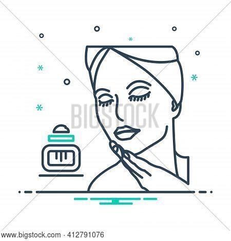 Mix Icon For Beauty Fineness Loveliness Gratefulness Beautiful