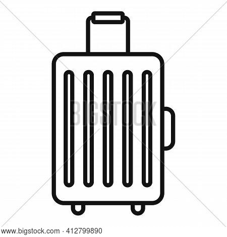 Travel Baggage Icon. Outline Travel Baggage Vector Icon For Web Design Isolated On White Background