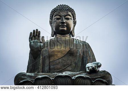 The Big Buddha Of Tian Tan In Hong Kong