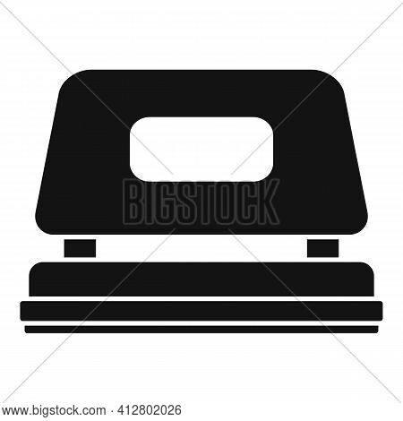 Office Hole Puncher Icon. Simple Illustration Of Office Hole Puncher Vector Icon For Web Design Isol