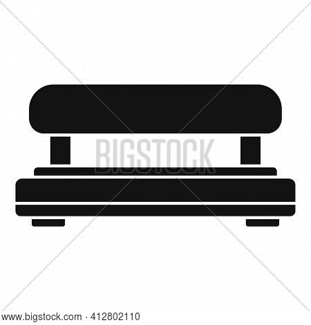Equipment Hole Puncher Icon. Simple Illustration Of Equipment Hole Puncher Vector Icon For Web Desig