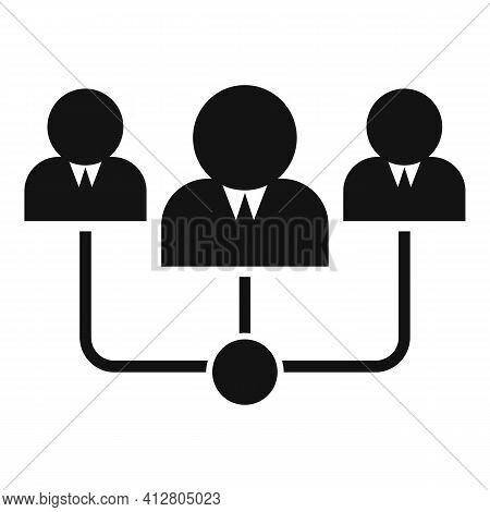 Restructuring Team Icon. Simple Illustration Of Restructuring Team Vector Icon For Web Design Isolat