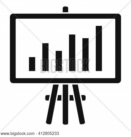 Restructuring Report Icon. Simple Illustration Of Restructuring Report Vector Icon For Web Design Is