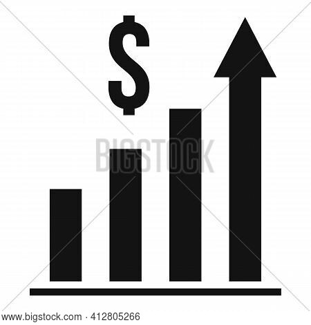 Restructuring Graph Chart Icon. Simple Illustration Of Restructuring Graph Chart Vector Icon For Web
