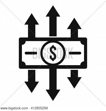 Profit Restructuring Icon. Simple Illustration Of Profit Restructuring Vector Icon For Web Design Is