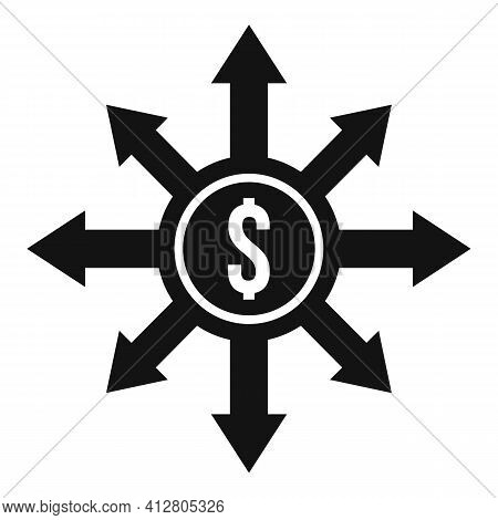 Debt Restructuring Icon. Simple Illustration Of Debt Restructuring Vector Icon For Web Design Isolat