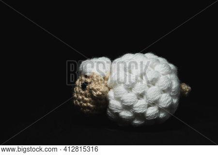 Amigurumi Sheep Crocheted Or Knitted Stuffed Toy