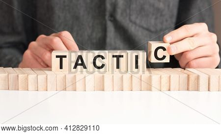 The Word Of Tactic On Building Blocks Concept