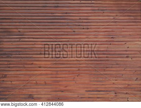 Wooden Fence. Old Wood Surface. Wall Of An Old Wooden Building. Rustic Wood Background. Old Grunge W