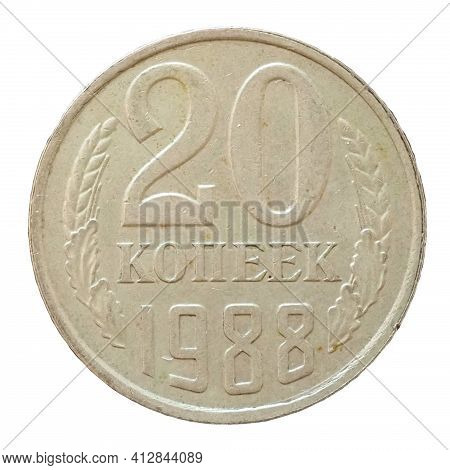 20 Ruble Cents Coin, Russia