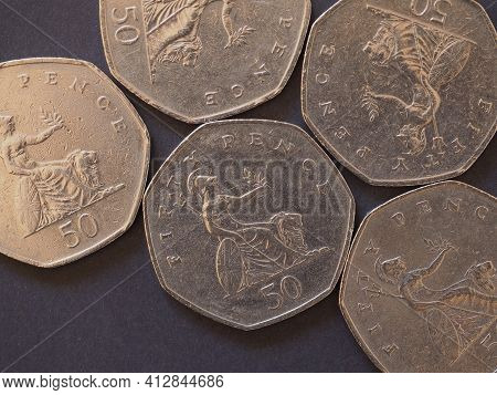 50 Pence Coin, United Kingdom
