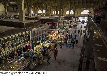 Municipal Market Of São Paulo - São Paulo-são Paulo-brasil - 10-11-2020