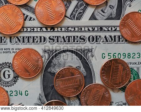 Dollar Notes And Coins, United States