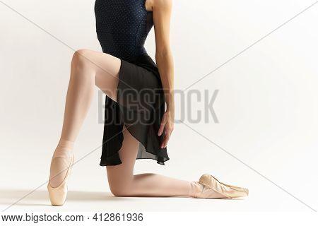 Woman Ballerina Dance Performing Elegant Style Luxury