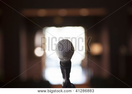 Single Microphone With Bocca