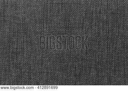 Gray Fabric Texture - Lightly Used Cotton Fabric - Graphite Gray Fabric Background