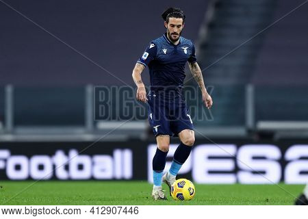 Torino, 06th March 2021. Luis Alberto Of Ss Lazio  During The Serie A Match Between Juventus Fc And