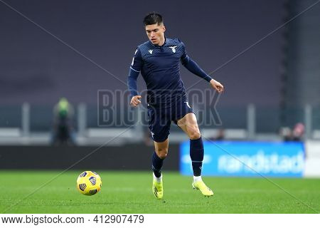 Torino, 06th March 2021. Joaquin Correa Of Ss Lazio  During The Serie A Match Between Juventus Fc An