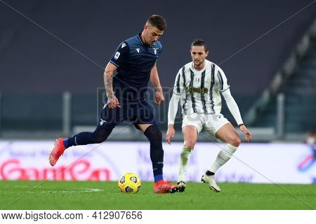 Torino, 06th March 2021. Sergej Milinkovic-savic  Of Ss Lazio  During The Serie A Match Between Juve