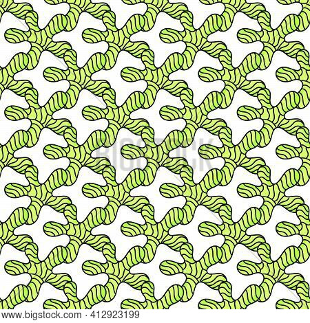 Rattan Branch Roots Seamless Textile Print. Great For Summer Vintage Fabric, Scrapbooking, Wallpaper