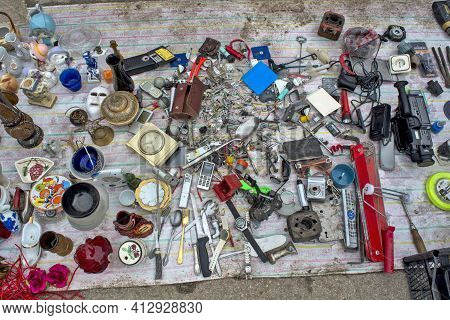 Flea Market With Old Items