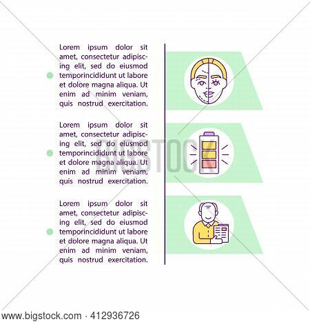 Longevity Concept Icon With Text. Anti Aging Effect. Intermittent Fasting Benefits. Health Care. Ppt