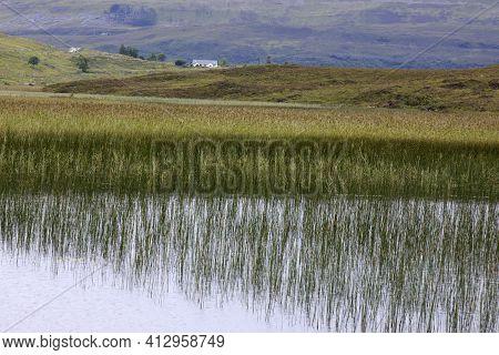 Cill Chriosd Lake Isle - Skye Island (scotland), Uk - August 13, 2018: Cill Chriosd Lake Isle Of Sky