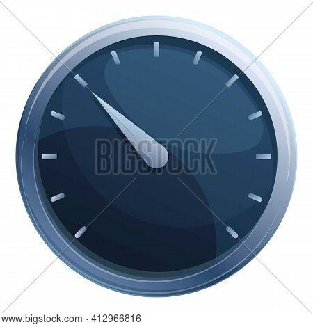 Arrow Speedometer Icon. Cartoon Of Arrow Speedometer Vector Icon For Web Design Isolated On White Ba