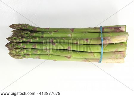 Green Asparagus With Long Stem Green Asparagus With Long Stem
