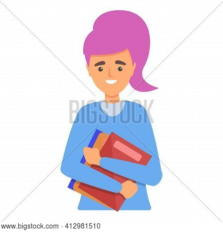 School Personal Assistant Icon. Cartoon Of School Personal Assistant Vector Icon For Web Design Isol