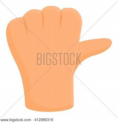 Ok Hand Gesture Icon. Cartoon Of Ok Hand Gesture Vector Icon For Web Design Isolated On White Backgr