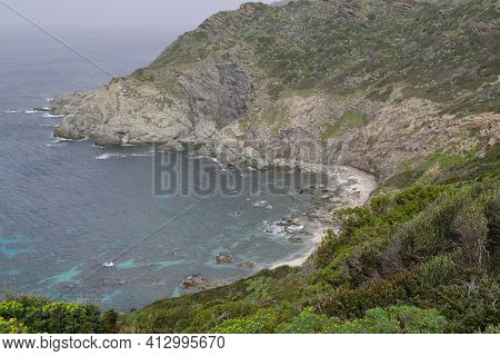 View Of Cala Li Fureddi Beach, Sassari