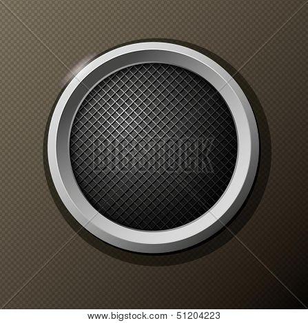 Black Round Icon