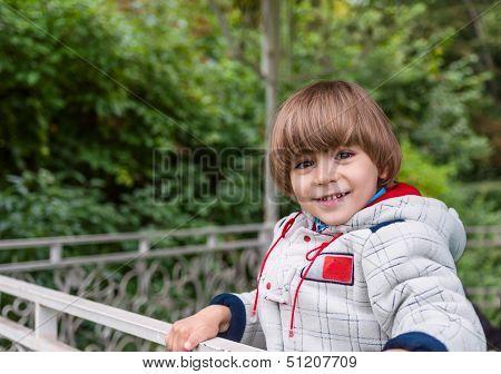 Adorable Boy Smiling
