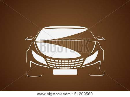 Auto in brown