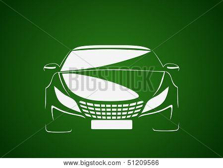 Auto in green