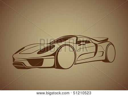 Brown super auto over brown
