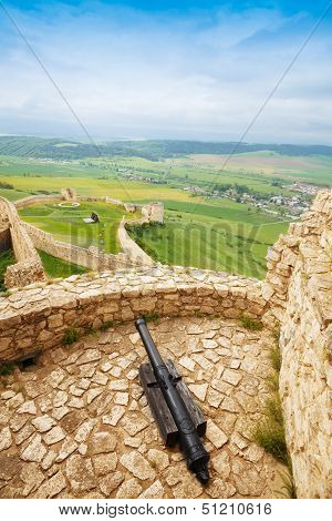 Canon On Spis Castle Tower