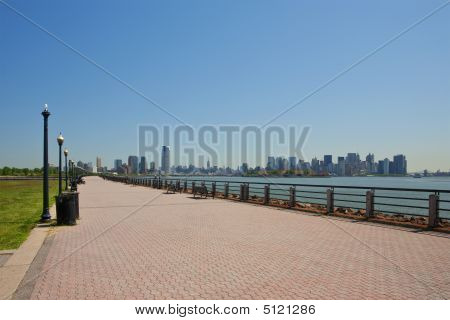 Liberty State Park's Walkway