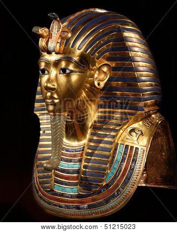 The Mask Of Tut Ankh Amon