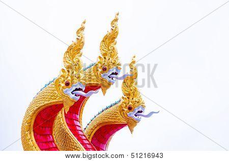 3 heads of serpent