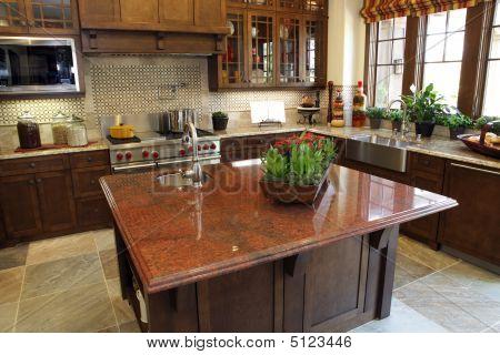 moderne Luxus home Küche.