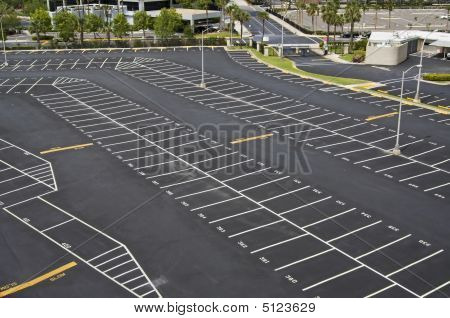 Large Parking Lot