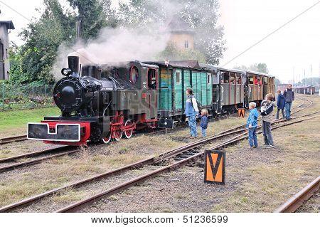 Old Steam Train