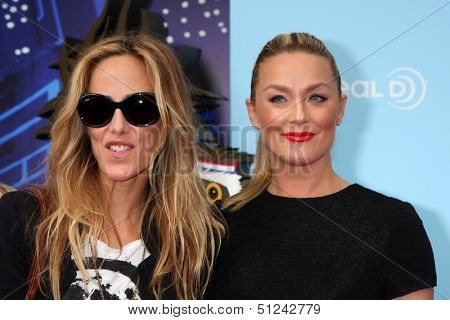 LOS ANGELES - SEP 21:  Kim Raver, Elisabeth Rohm at the
