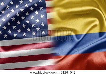 Usa And Columbia