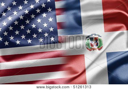 Usa And Dominican Republic