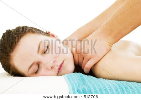 Massage-close up